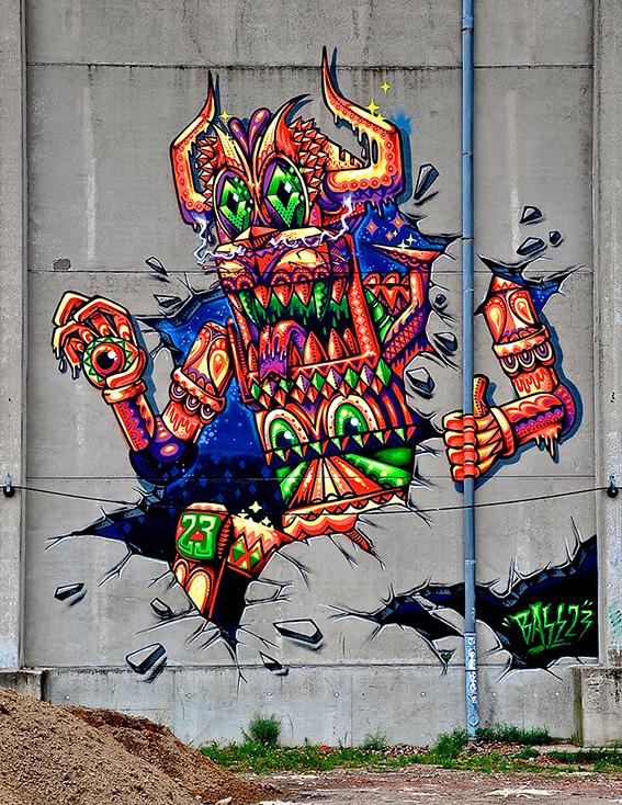imbue street art